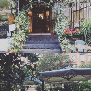 Piazza Bellini, caffè letterario Intra Moenia, piacevolissimo momento di relax