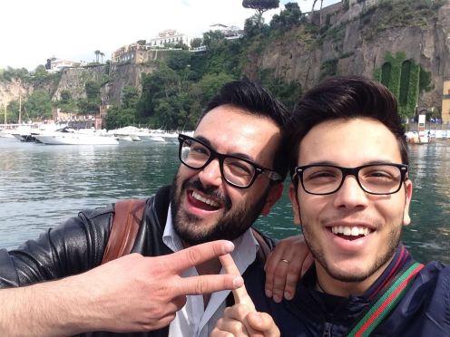 Da Sanremo a Sorrento, ho incontrato un collega e amico